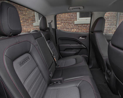 2018 GMC Canyon SLE Crew Cab Pickup Rear Interior