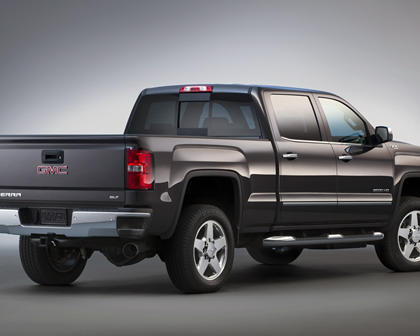 2016 GMC Sierra 3500HD SLT Crew Cab Pickup Exterior Shown
