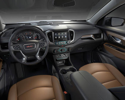 2018 GMC Terrain SLT 4dr SUV Dashboard Shown