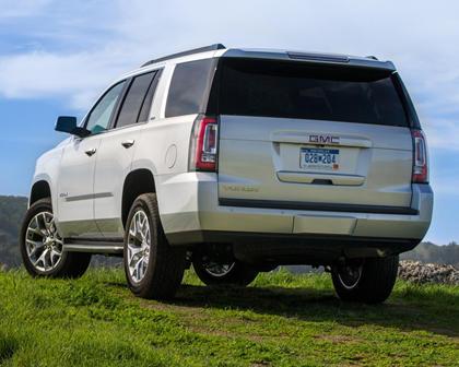 2018 GMC Yukon SLT 4dr SUV Exterior Shown
