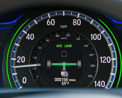 2017 Honda Accord Hybrid Touring Touring SedanGauge Cluster