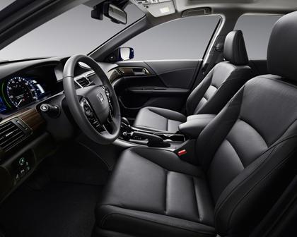 2017 Honda Accord Hybrid Touring Touring SedanInterior
