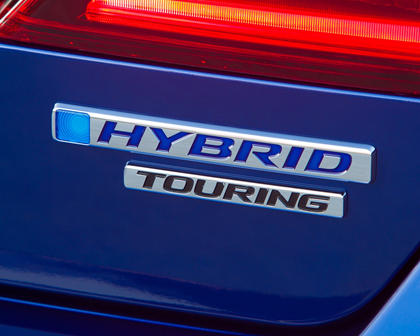 2017 Honda Accord Hybrid Touring Touring SedanRear Badge
