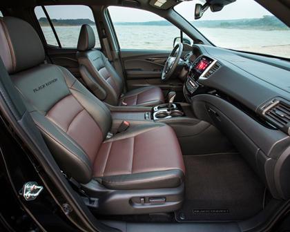 2018 Honda Ridgeline Black Edition Crew Cab Pickup Interior
