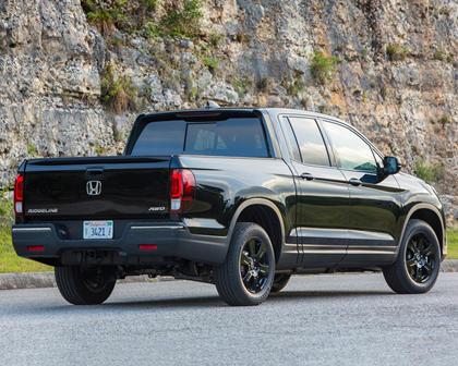 2018 Honda Ridgeline Black Edition Crew Cab Pickup Exterior