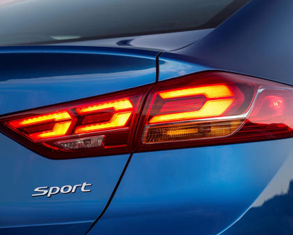 2018 Hyundai Elantra Sport Sedan Rear Badge