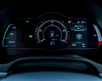 2017 Hyundai Ioniq Electric Limited 4dr Limited HatchbackGauge Cluster