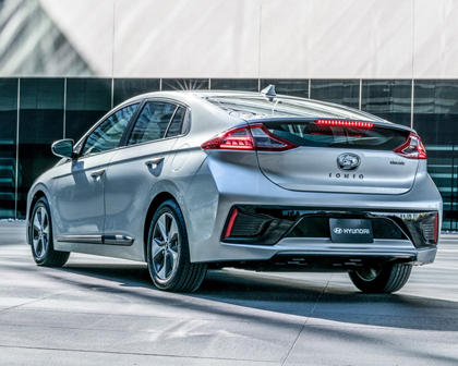 2017 Hyundai Ioniq Electric Limited 4dr Limited HatchbackExterior Shown