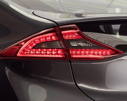 2017 Hyundai Ioniq Hybrid Limited 4dr Hatchback Exterior Detail