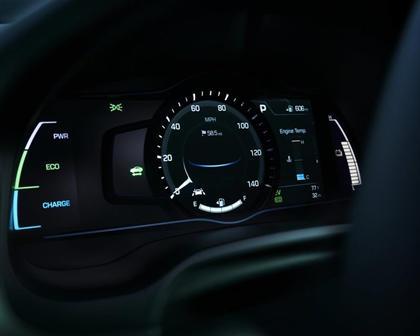 2017 Hyundai Ioniq Hybrid Limited 4dr Hatchback Gauge Cluster