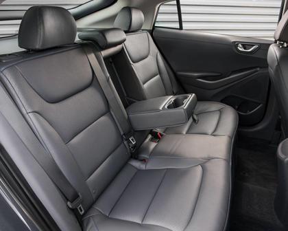 2017 Hyundai Ioniq Hybrid Limited 4dr Hatchback Rear Interior