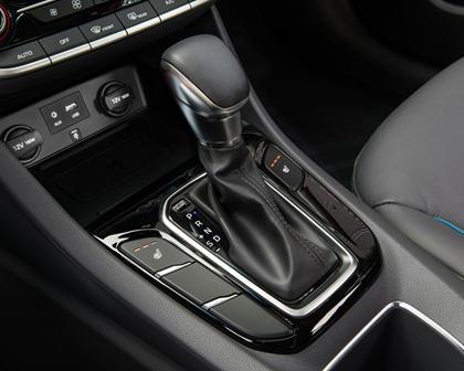 2017 Hyundai Ioniq Hybrid Limited 4dr Hatchback Shifter