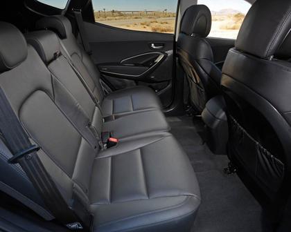 2018 Hyundai Santa Fe Sport 2.0T 4dr SUV Rear Interior