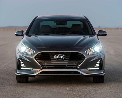 2018 Hyundai Sonata Limited Sedan Exterior