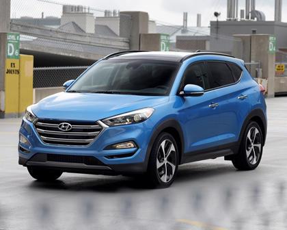 2017 Hyundai Tucson Limited 4dr SUV Exterior Shown