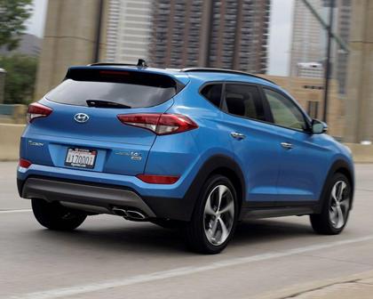 2017 Hyundai Tucson Limited 4dr SUV Exterior
