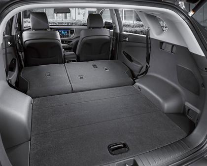 2017 Hyundai Tucson Limited 4dr SUV Interior