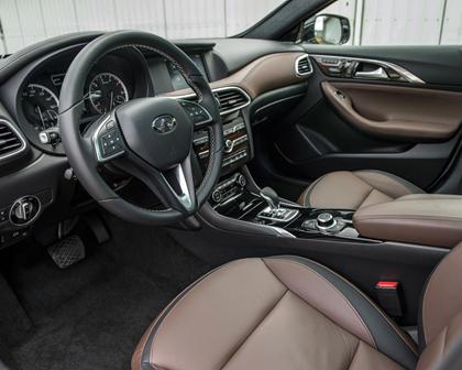 2018 INFINITI QX30 Premium 4dr SUV Interior