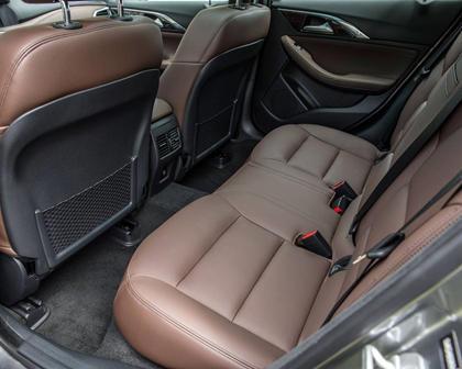 2018 INFINITI QX30 Premium 4dr SUV Rear Interior
