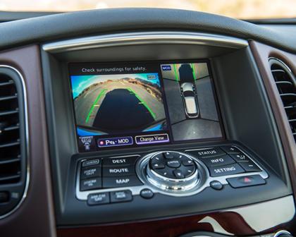 2017 INFINITI QX50 4dr SUV Backup Camera Display Screen