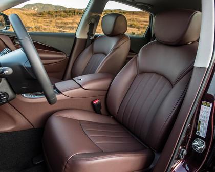 2017 INFINITI QX50 4dr SUV Interior