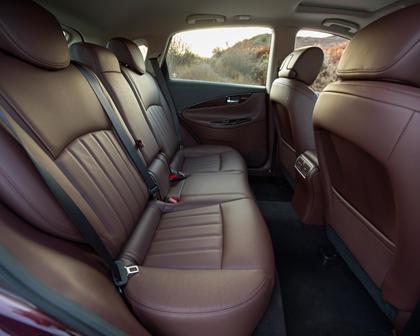 2017 INFINITI QX50 4dr SUV Rear Interior