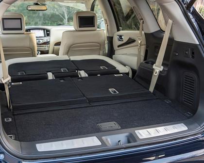 2017 INFINITI QX60 4dr SUV Interior