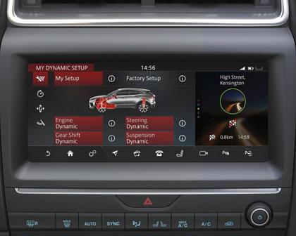 2018 Jaguar E-PACE P250 First Edition 4dr SUV Center Console