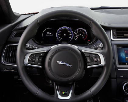 2018 Jaguar E-PACE P250 First Edition 4dr SUV Steering Wheel Detail