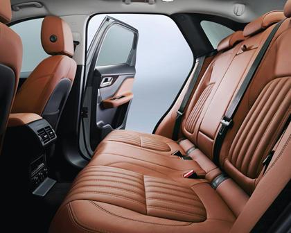 2018 Jaguar F-PACE 20d Prestige 4dr SUV Rear Interior