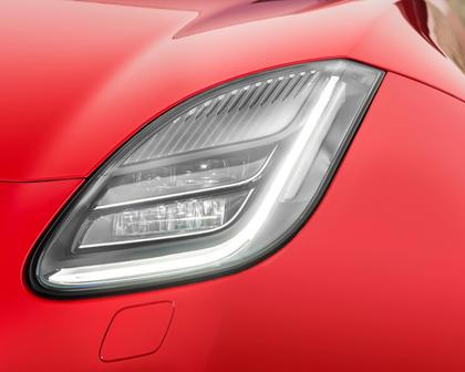2018 Jaguar F-TYPE Coupe Headlamp Detail