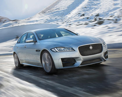 2018 Jaguar XF 20d R-Sport Sedan Exterior Shown