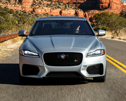 2018 Jaguar XF S Sedan Exterior