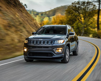 2018 Jeep Compass Latitude 4dr SUV Exterior Shown