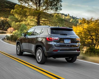 2018 Jeep Compass Latitude 4dr SUV Exterior