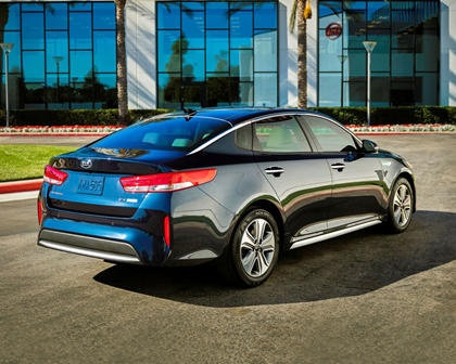 2017 Kia Optima Hybrid EX Sedan Exterior