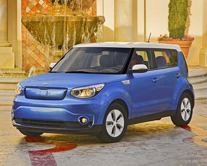 2017 Kia Soul EV + Wagon Exterior Shown