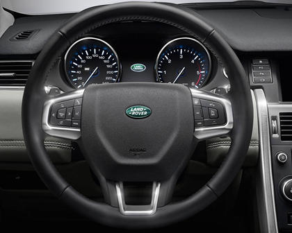 2017 Land Rover Discovery Sport HSE LUX 4dr SUV Steering Wheel Detail