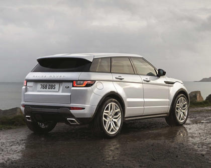 2017 Land Rover Range Rover Evoque Shown HSE Dynamic Exterior