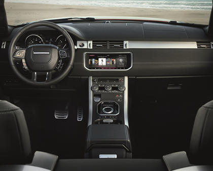 2017 Land Rover Range Rover Evoque HSE Dynamic Convertible SUV Dashboard Shown
