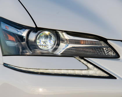 2017 Lexus GS 450h F SPORT Sedan Headlamp Detail