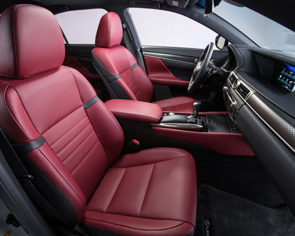 2017 Lexus GS 450h F SPORT Sedan Interior Shown