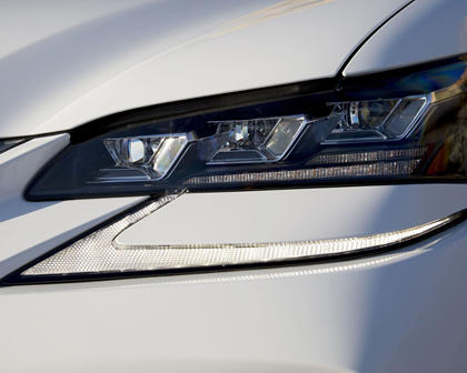 2017 Lexus GS F Sedan Headlamp Detail