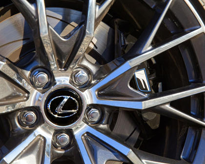 2017 Lexus GS F Sedan Wheel