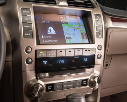 Lexus GX 460 Luxury 4dr SUV Center Console