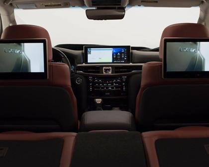 2017 Lexus LX 570 4dr SUV Interior Detail