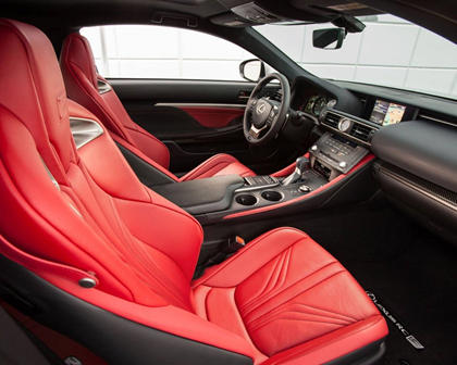 2017 Lexus RC F Coupe Interior