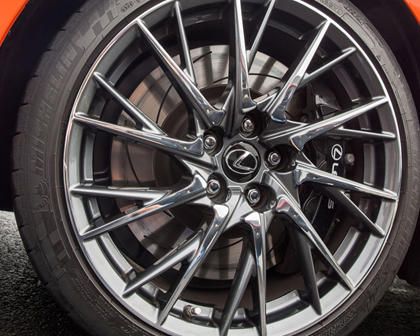 2017 Lexus RC F Coupe Wheel