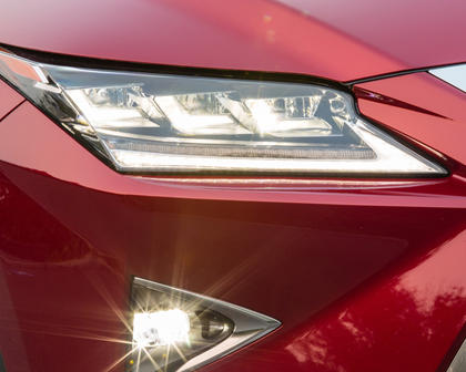 2016 Lexus RX 450h 4dr SUV Headlamp Detail