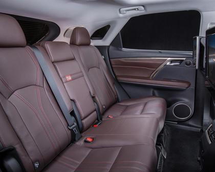 2016 Lexus RX 450h 4dr SUV Rear Interior